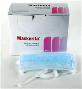 Immagine di 13036 Mascherine azzurre cucite