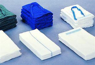 Immagine per la categoria Compresse laparatomiche in puro cotone con filo di bario