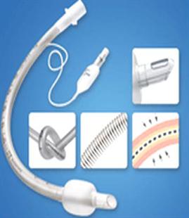 Immagine per la categoria Tubo endotracheale cuffiato e rinforzato, cuffia HVLP versione Magill punta Murphy, con mandrino per intubazione